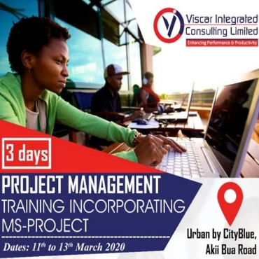 Project Management Training Incorporating Ms-Project