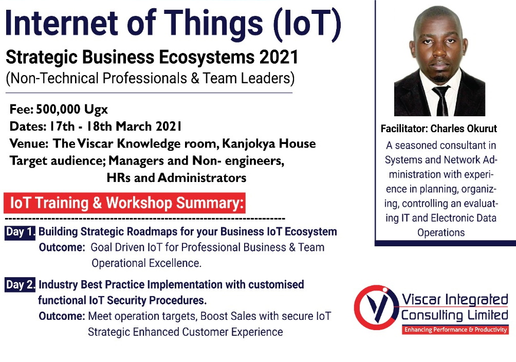 Internet of Things Training and Workshop